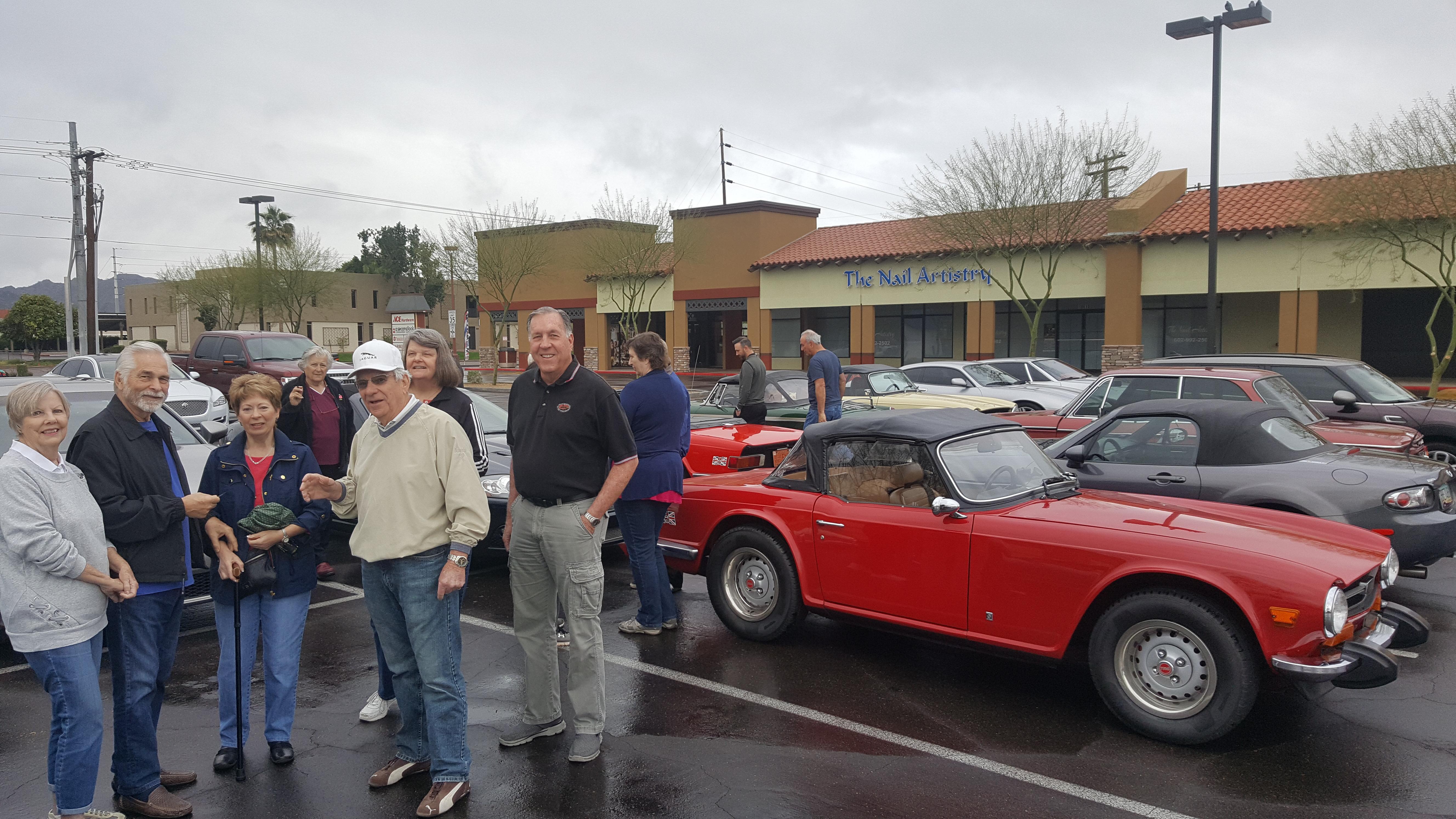 Jaguar Club of Central Arizona - Events